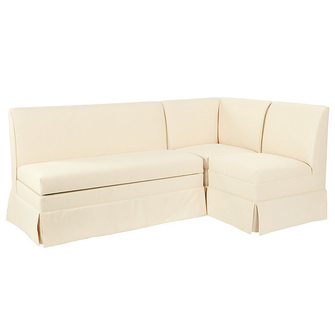Coventry sectional corner bench 48 bench and 20 bench for Ballard designs bench seating
