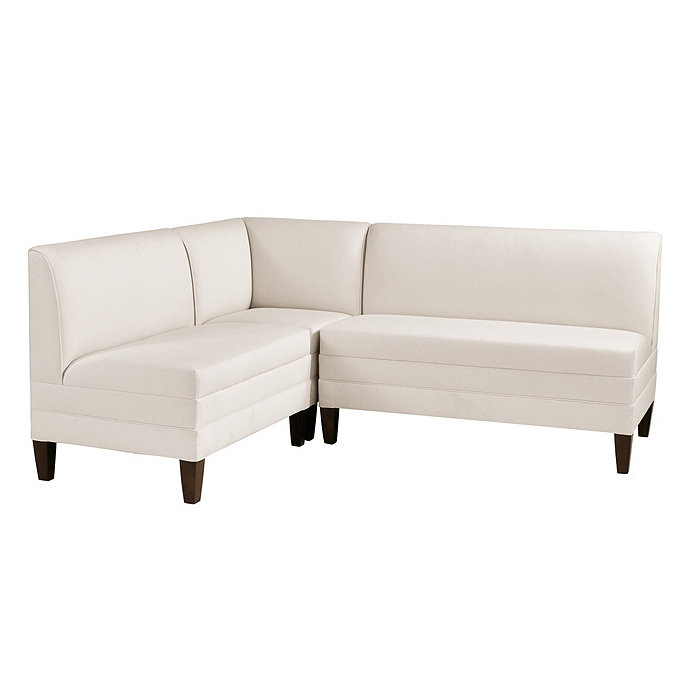 """Banquette Corner Bench: Bristol Sectional: Corner Bench, 36"""" Bench And 48"""" Bench"""