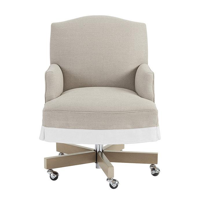 Suzanne Kasler Kate Skirted Desk Chair Ballard Designs