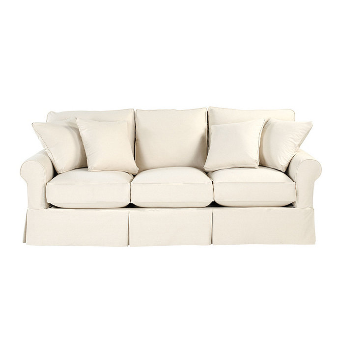 Baldwin sofa slipcover ballard essentials fabrics for Ballard designs sectional sofa