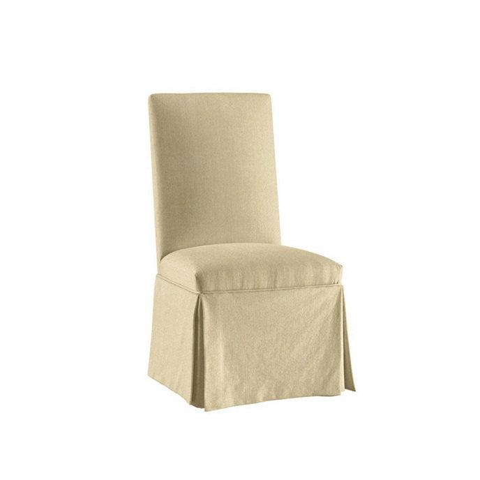 Suzanne Kasler Linen Parsons Chair Slipcover Ballard Designs