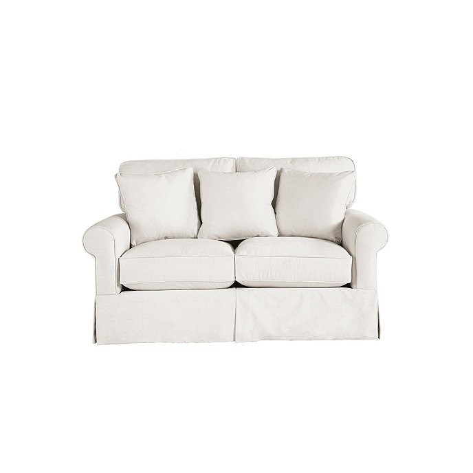 Baldwin upholstered loveseat ballard designs Upholstered sofas and loveseats