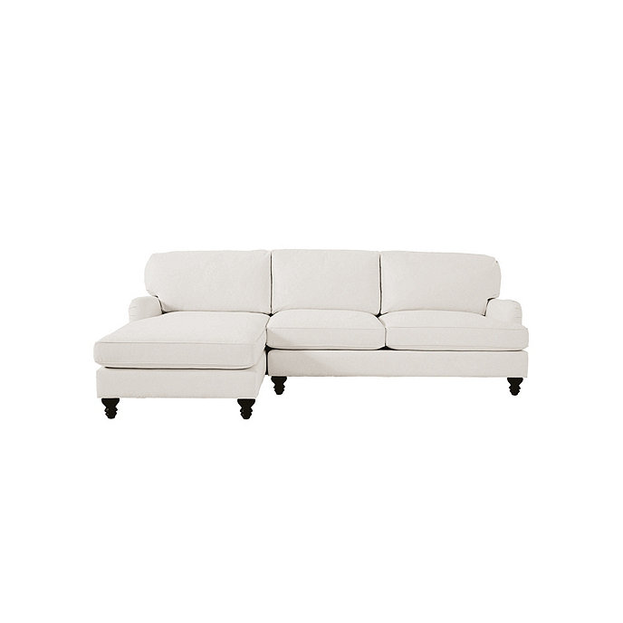 Eton 2 piece sectional with right arm apartment sofa and for 2 piece sectional with chaise lounge
