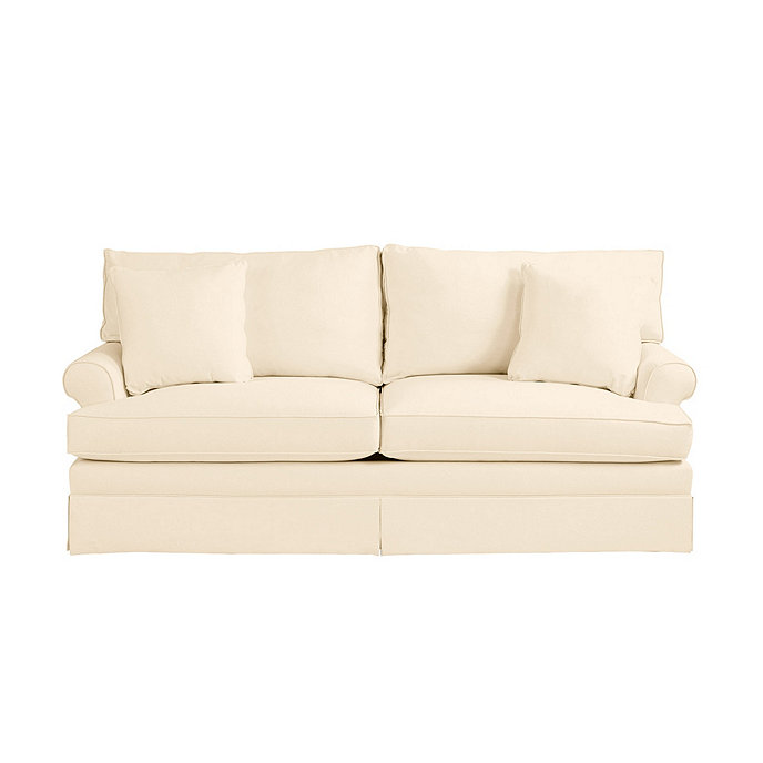 Davenport upholstered sofa ballard designs for Ballard designs sectional sofa