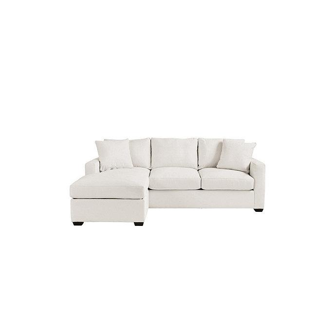 Orson reversible sleeper sectional ballard designs for Ballard designs sectional sofa