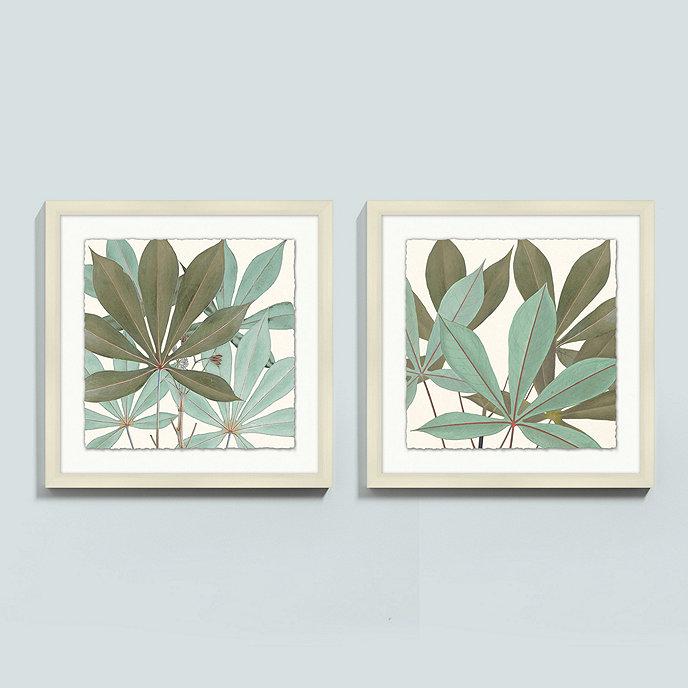 tropical foliage art ballard designs