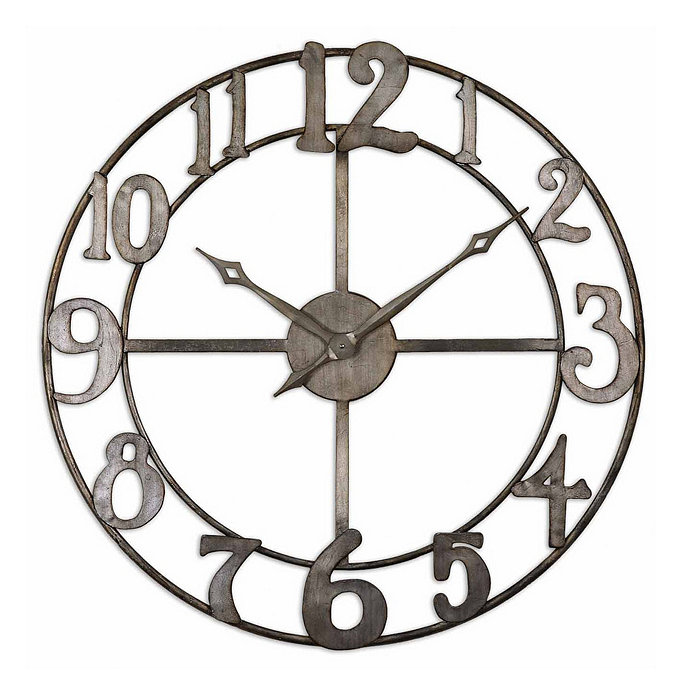 Wall Clock Ballard Design : Destin clock ballard designs