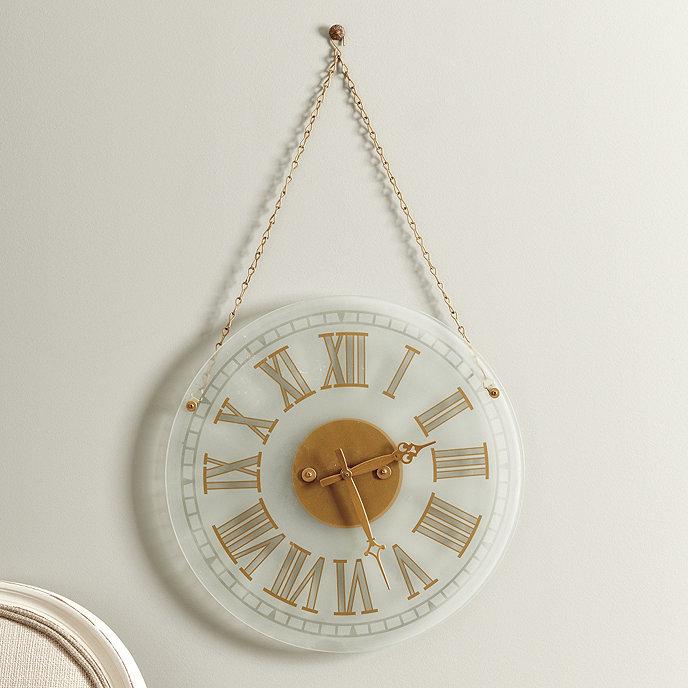 Wall Clock Ballard Design : Elsa clock ballard designs