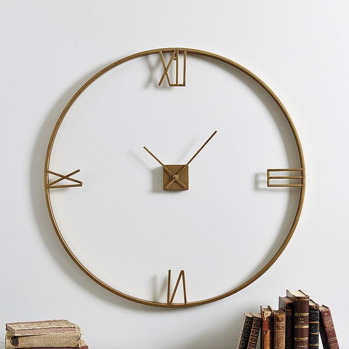 Wall Clock Ballard Design : Edison clock ballard designs
