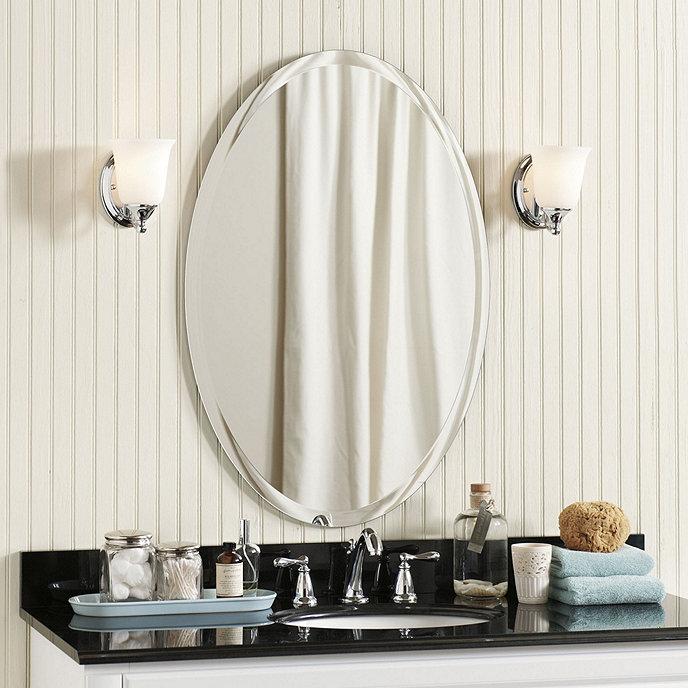 Frameless Beveled Mirror Ballard Designs
