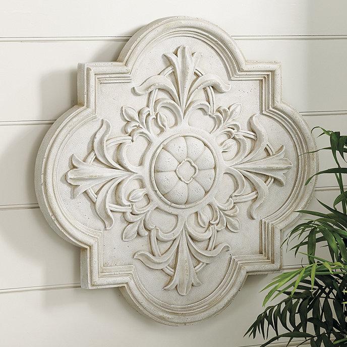 Smithhouse indoor outdoor medallion plaque ballard designs for Architectural medallions exterior