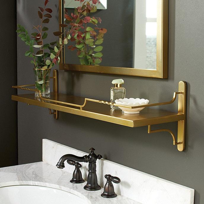 Ballard Design Bathroom Vanity : Bastille shelf ballard designs