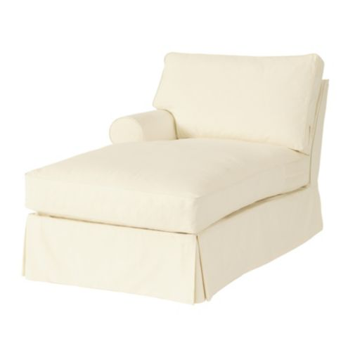 Davenport Left Arm Chaise Slipcover | Ballard Essential