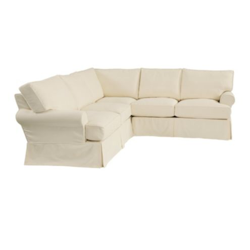 Davenport 3 | Piece Sectional Slipcover | Ballard