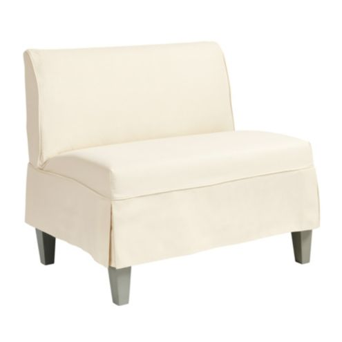 Bristol Slipcovered Seating/36' Bench Short Slipcover