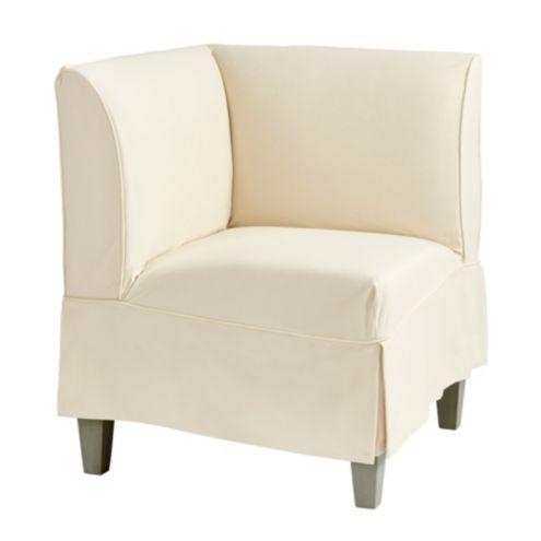 Bristol Slipcovered Seating/Corner Bench Short Slipcover