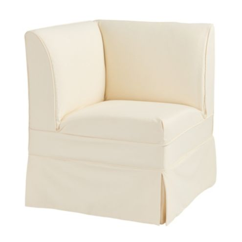 Bristol Slipcovered Seating/Corner Bench Long Slipcover