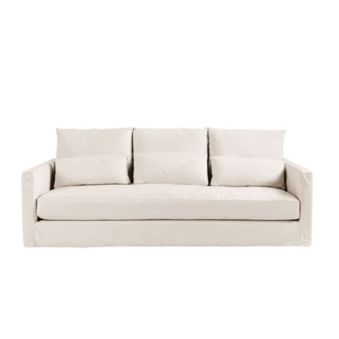 Dakota Sofa Slipcover and Frame