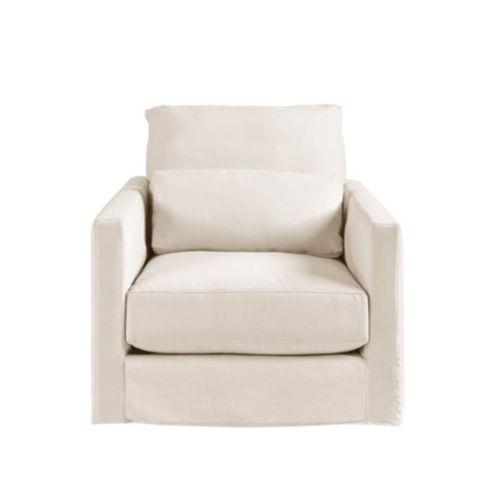 Dakota Swivel Chair Slipcover and Frame
