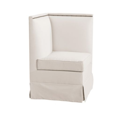 Hampton Upholstered Corner Bench