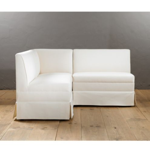 Coventry Sectional: Corner Bench, and 36' Bench and