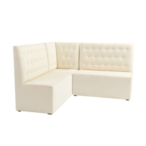 Belmont Sectional: Corner Bench and Two 48' Benches