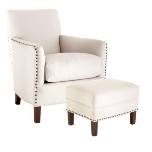 Brighton Club Chair & Ottoman