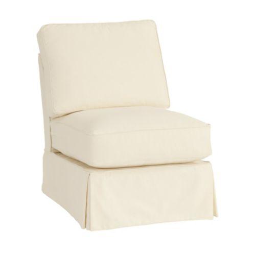 Davenport Armless Club Chair Frame