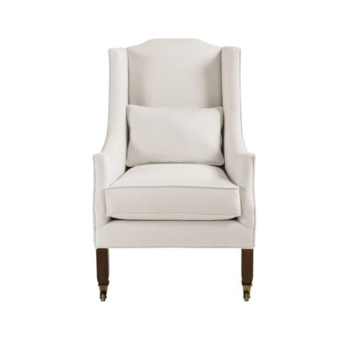 Nelson Wing Chair with Pillow