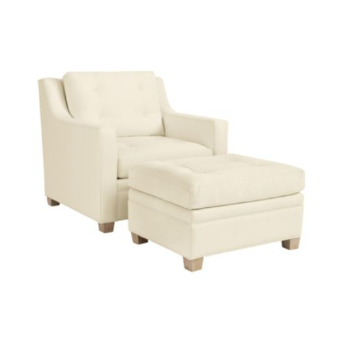 Tulum Chair and Ottoman