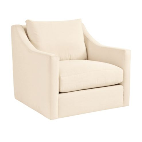 Sutton Upholstered Swivel Chair