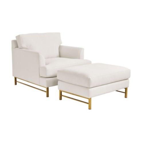 Kathryn Chair & Ottoman