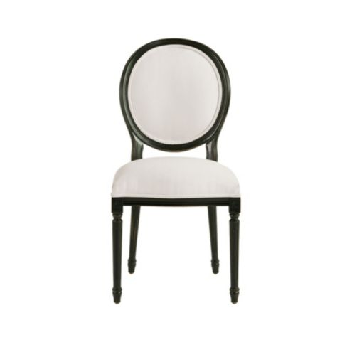 Oval Back Louis XVI Side Chair