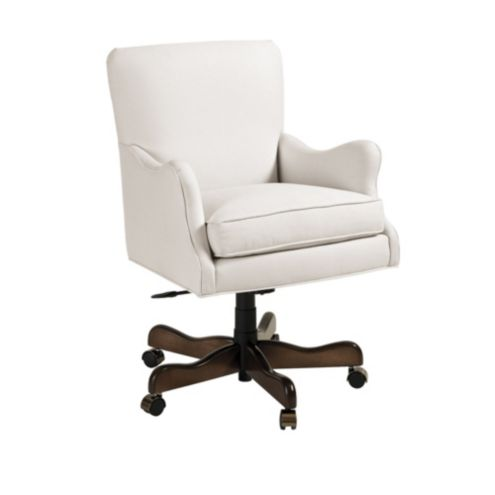 Adjustable Upholstered Desk Chairs Ballard Designs