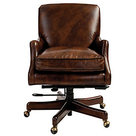 Rhodes Leather Desk ChairPennington Leather Desk Chair   Ballard Designs. Office Chair Ballard Design. Home Design Ideas