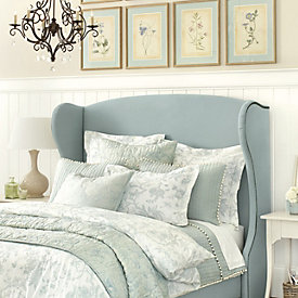 claudette headboard ballard designs gwen upholstered headboard full ballard designs