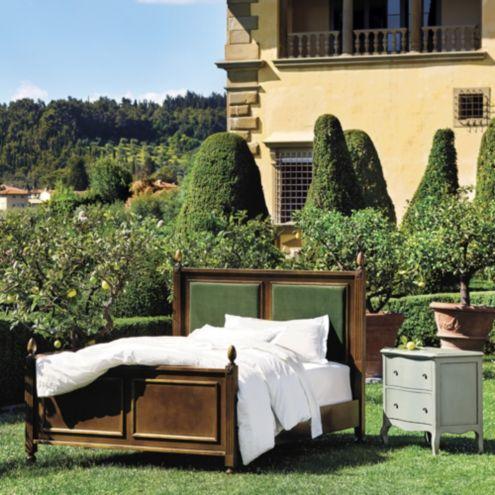 Casa Florentina Louis XVI Upholstered Queen Bed