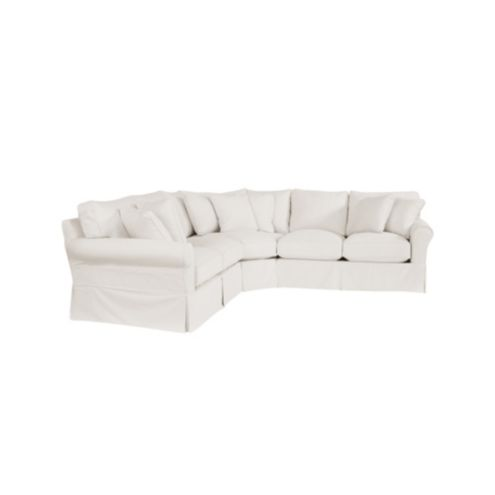 Baldwin 3 | Piece Loveseat Wedge Sectional Slipcover