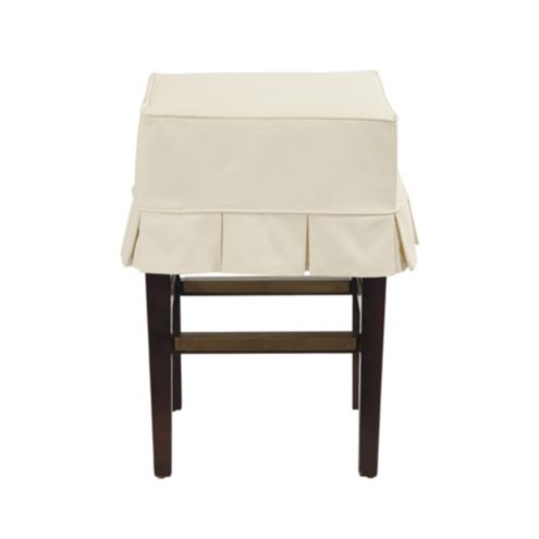 Mallory Stool Custom Slipcover