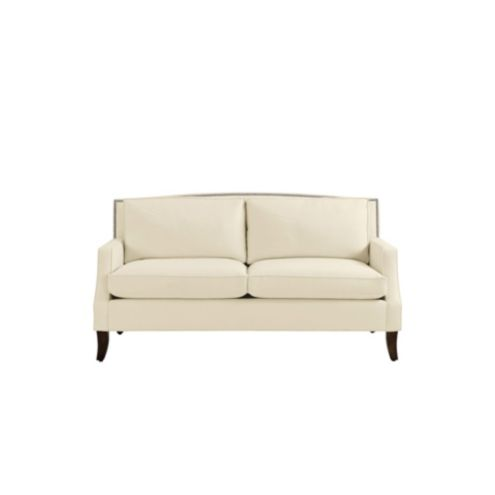 Carlton Apartment Sofa with Pewter Nailheads