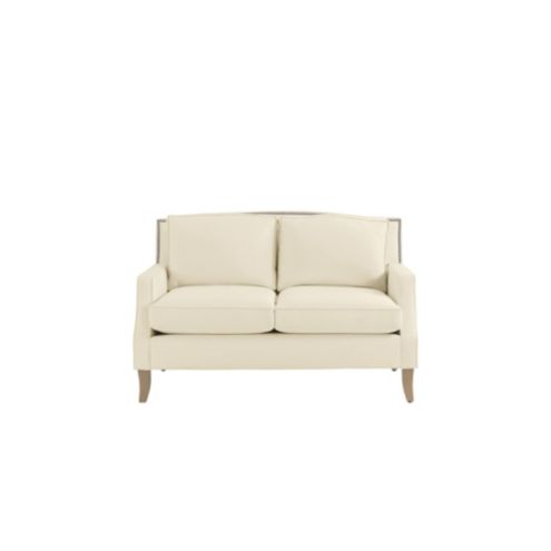 Carlton Loveseat with Pewter Nailheads