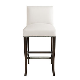 Gentry Barstool With Pewter Nailheads Ballard Designs