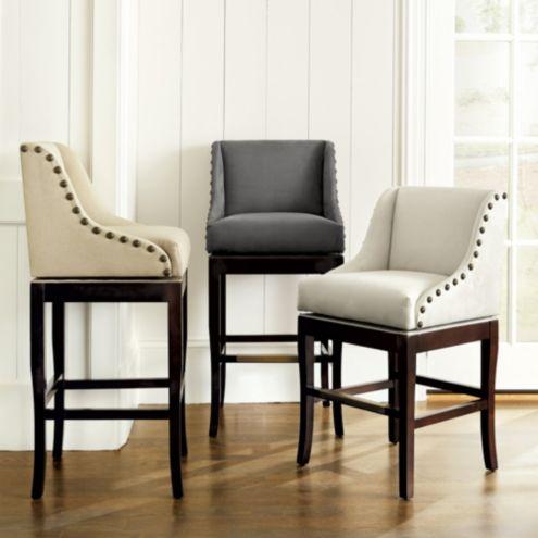 Ava Vanity Stool Ballard Designs