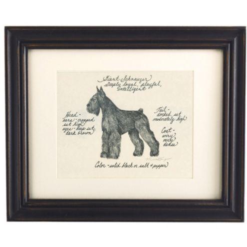 Giant Schnauzer Dog Print