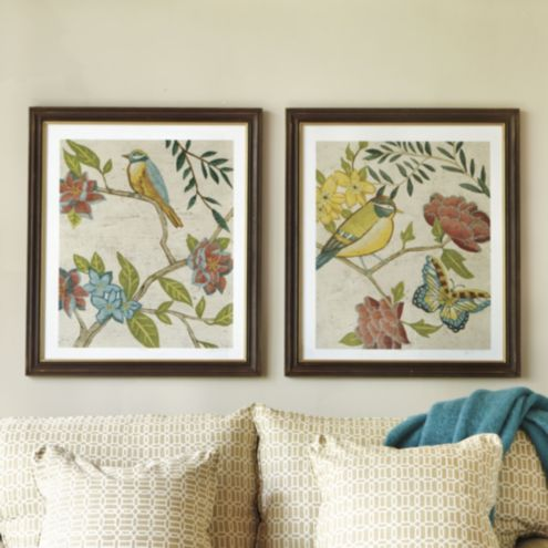 Antique Aviary Giclee Prints