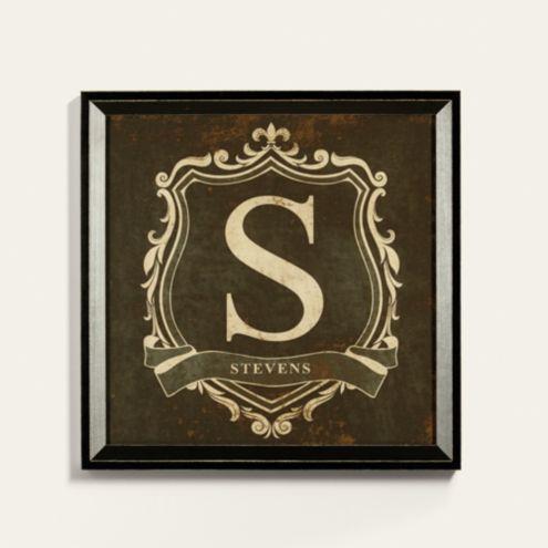 Personalized Monogram Crest