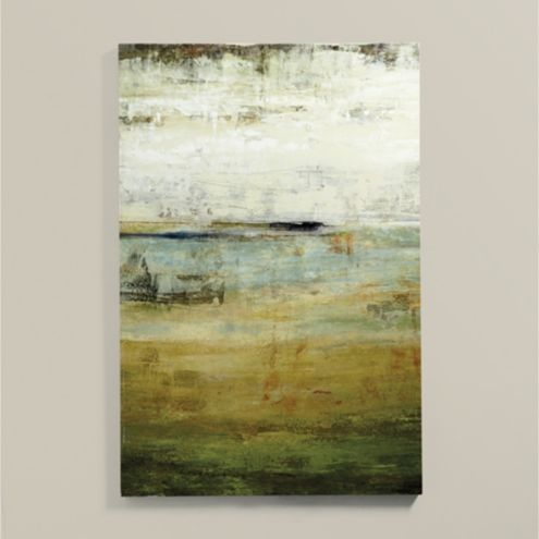 Mineral Sea Stretched Canvas
