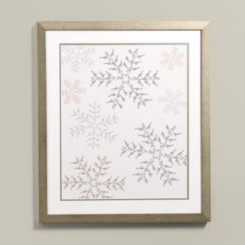 Suzanne Kasler Snowflake Framed Print