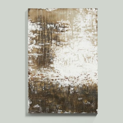 Golden Complexity Hand Painted Canvas