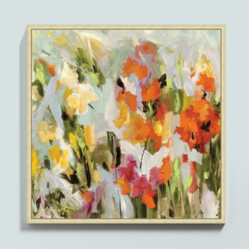 Song of the Wildflower Framed Canvas
